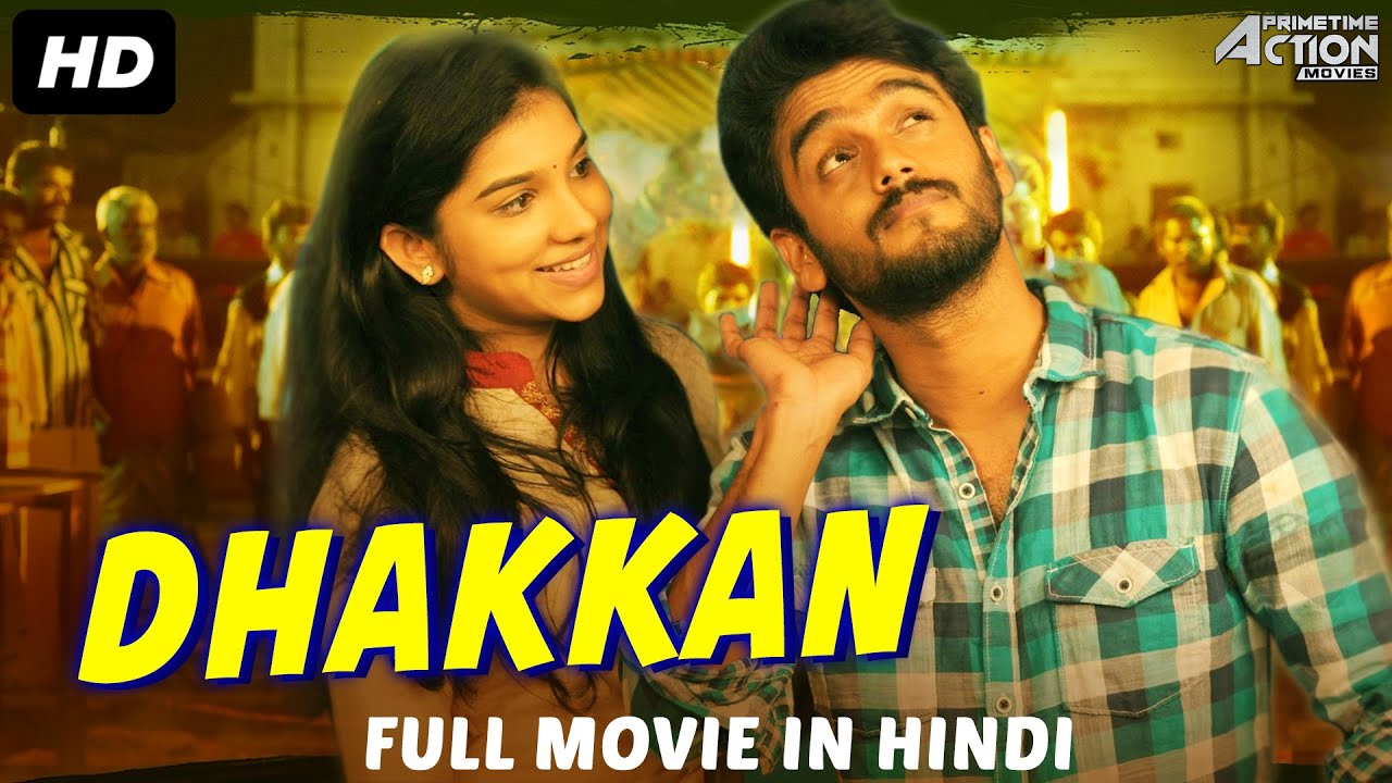 DHAKKAN - Hindi Dubbed Full Action Romantic Movie | South Indian Movies Dubbed In Hindi Full Movies