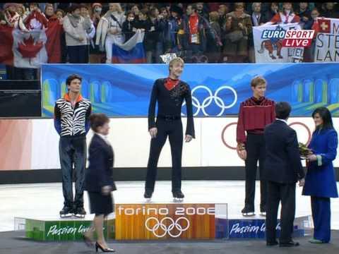 2006 Olympics Men Medal Ceremony