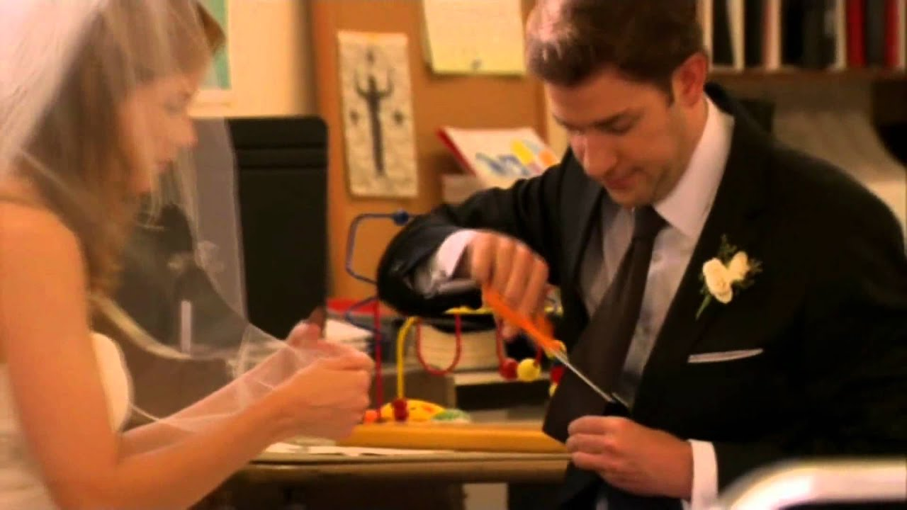 Jim And Pam Wedding Episode.The Office Jim And Pam Wedding