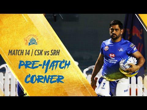 IPL 2020 Match 14: Pre-match corner: CSK vs SRH #Whistlepodu #Yellove🦁