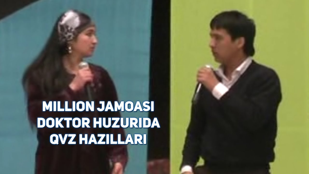 Million jamoasi - Doktor huzurida (QVZ hazillari)