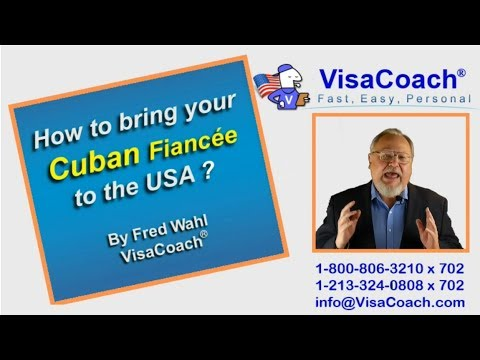 How To Bring Cuban Fiance To USA
