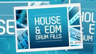 RV Samples present House EDM Drum Fills - House Drum Samples