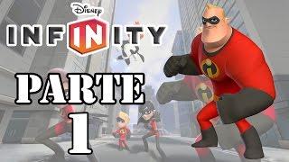 Let's Play : Disney Infinity - Os Incríveis - Parte 1