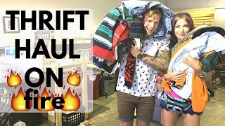 Thrift Store 🔥🔥 - Salvation Army eBay Haul Video - Reseller Vlog | RALLI ROOTS