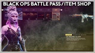 Black Ops 4 Battle Pass/Item Shop? (Fortnite Battle Royale)