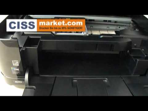 CISS Installation in Canon MG5250 | FunnyDog.TV