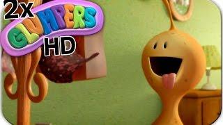 Chistosos Glumpers, dibujos divertidos, 2 episodios