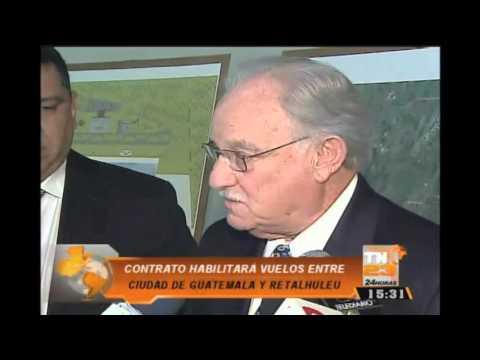 Habilitarán vuelos entre Ciudad de Guatemala y Retalhuleu