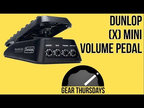 Volume Pedals - Dunlop Mini X Volume Pedal - Gear Demo