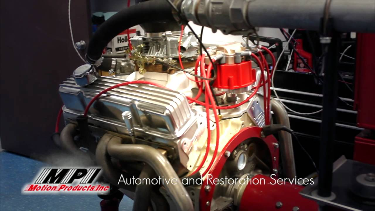 510 HP 383 Small Block Chevy Engine Dyno Run