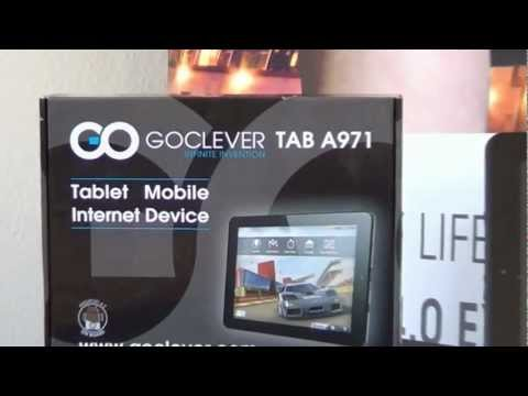 GOCLEVER TAB A971 Software tutorial thumbnail