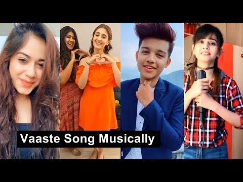 Vaaste Song Musically | Dhvani Bhanushali, Jannat Zubair, Riyaz