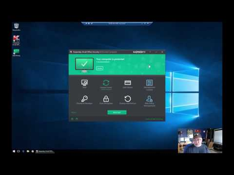 Kaspersky Small Business Security Software-review & install