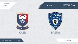Afl18. france. ligue 1. day 8. caen - bastia