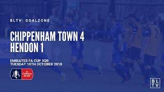 GOALZONE: Chippenham Town 4-1 Hendon   2018/19 FA Cup