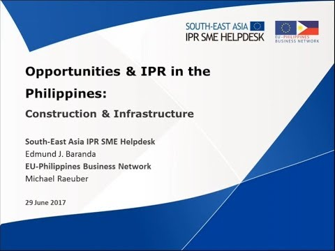 Construction and Infrastructure in the Philippines Webinar