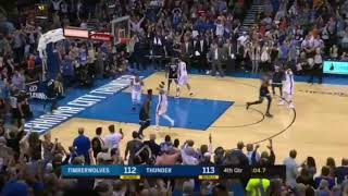 Andrew Wiggins Game Winner vs Thunder | NBA 2017-18 Season
