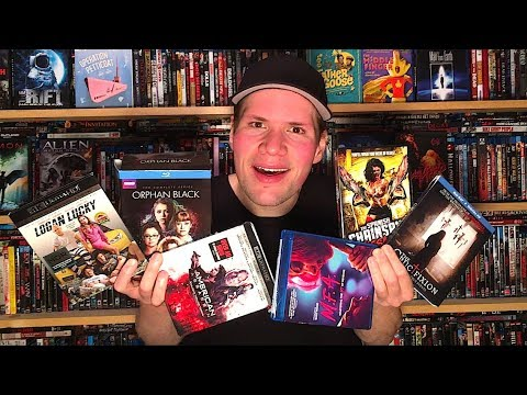My Blu-ray Collection Update 11/25/17 : Blu ray and Dvd Movie Reviews