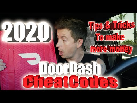 2020 Doordash Cheatcodes - How To Make More Money On Doordash, Tips And Tricks, Tutorials, Delivery