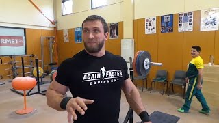 Dmitry Klokov & Yuriy Sarkisyan - TRAINING