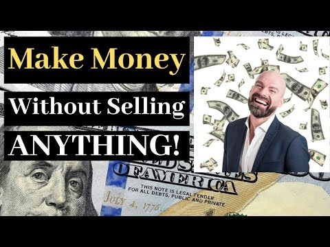 Make Money Online 2019 Without Selling Anything!  Really?