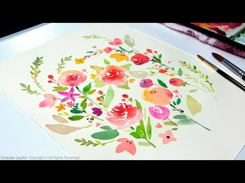 DIY Watercolor Painting