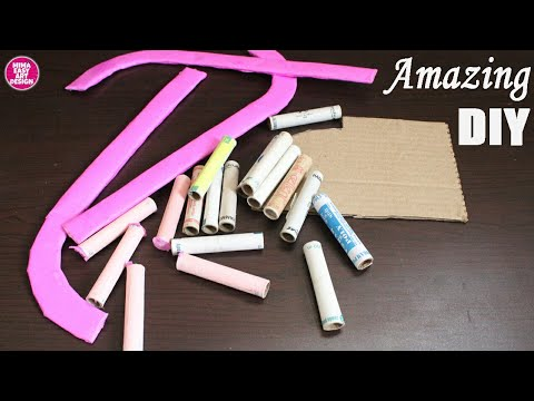 DIY !! Creative Recycle thread spool idea | Home decor arts and crafts using thread spool |crafty
