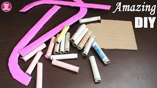 DIY !! Creative Recycle thread spool idea | Home decor arts and crafts using thread spool |crafty