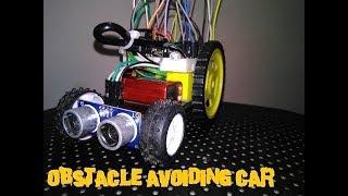 Obstacle avoiding Car  Arduino autonomous car