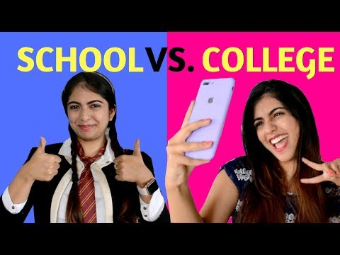 School Vs College | Students | Nakhrebaaz | Latest Comedy Hindi Videos