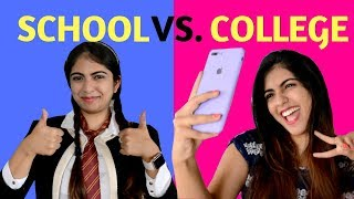 School Vs College | Students | Nakhrebaaz | Lat...
