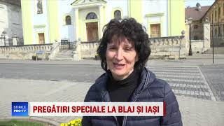 Blaj, numit Mica Roma, se transforma radical pentru vizita Papei