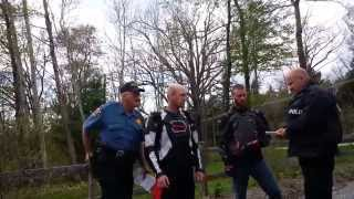 PA officer goes on a power trip