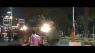 Atatürk Havalimanına Tanklar Konuşlandırıldı.