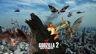 Самый Крутой Фантастический Боевик Всех Времен   Годзилла 2: Король монстров