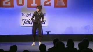 Imogen Heap Performance with Musical Gloves Demo | WIRED 2012 | WIRED