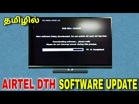Repeat AIRTEL Set top box software update || for Tamil || TECH TV