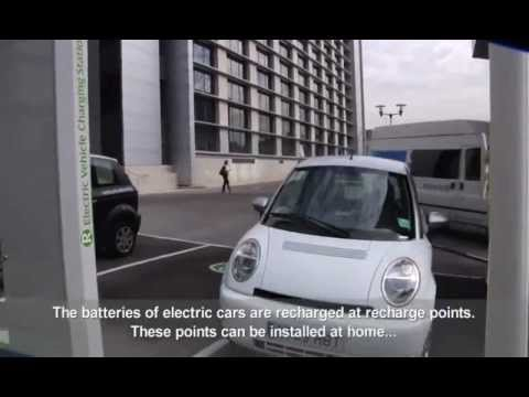 How Does An Electric Car Work Youtube