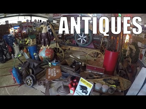 Antique Mall And Flea Markets - Trip Vlog