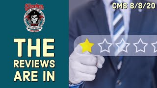 CMS – The Reviews Are In