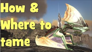 Ark - Ragnarok - How & Where to tame Tapejara