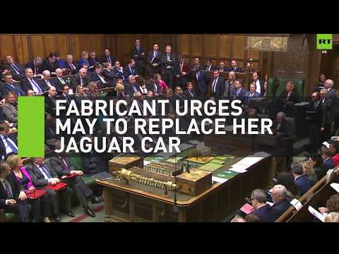 Fabricant urges Theresa May to replace her Jaguar car