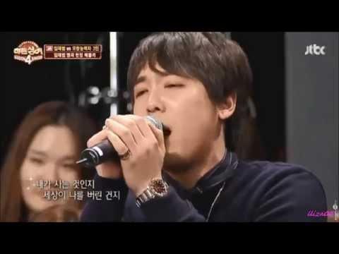 Lee Hongki singing Stigma 낙인 on HS - 28 Nov 2015