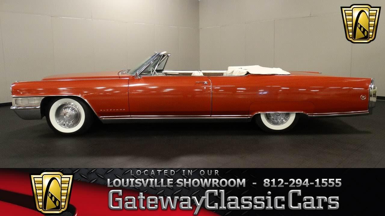 1965 Cadillac El Dorado Louisville Showroom Stock 1380 Youtube
