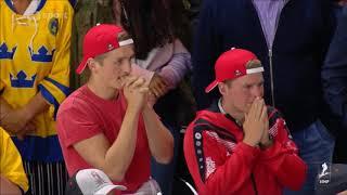 MS v hokeji 2018 - NÁJEZDY FINÁLE - Švédsko vs Švýcarsko