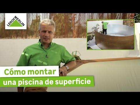 Cómo montar una piscina de superficie (Leroy Merlin)