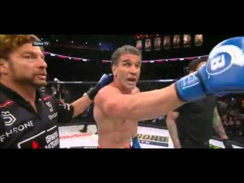 **Royce Gracie** earns controversial win over **Ken Shamrock** at **Bellator 149**