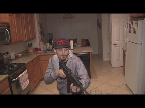 Man confronts armed intruder in home, fires warning shots
