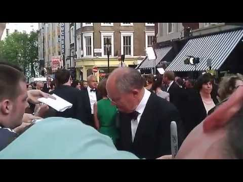 Jim Broadbent Signing Autographs